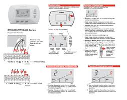 heating and cooling thermostat wiring diagram in honeywell Wiring Diagram For Underfloor Heating Thermostat heating and cooling thermostat wiring diagram to honeywellrth6350rth6450 jpg 2Wire Thermostat Wiring Diagram