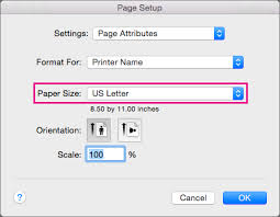 Change Paper Size Word For Mac