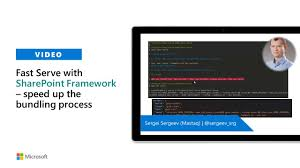 fast serve with sharepoint framework