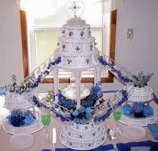 wedding cakes with fountains. Blue Fountain Wedding Cake Throughout Cakes With Fountains