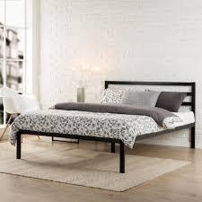 No Headboard Bed Amazoncom Zinus Modern Studio 14 Inch Platform 1500h Metal Bed