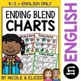 Free Ending Blends Chart Free Ending Blends Chart Vic Font Blends Digraphs