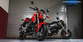 2017 Grom Overview Honda Powersports