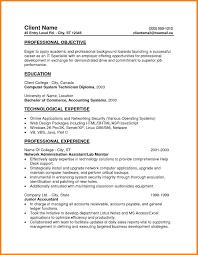 9 Entry Level Resume Examples Precis Format