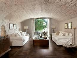 vintage parquet wood look tile flooring traditional living room