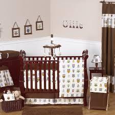 Owl Bedroom Accessories Amazing Owl Nursery Decor Cute Owl Crib Bedding Chocolate Solid