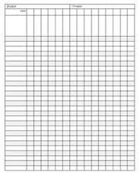 free printable blank charts for teachers