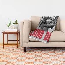 Walking Dead Throw Blankets