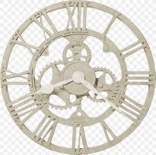clock steampunk gear wall movement png