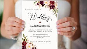 38 Simple Wedding Invitation Templates Psd Ai Word Pages