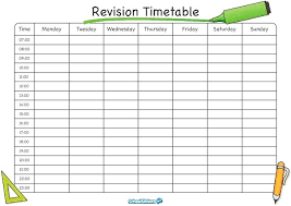 Excel University Timetable Template After School Free Templates For ...
