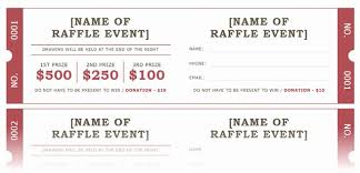 Event Ticket Template Word Free Ticket Template Word Lovely How To Get A Free Raffle