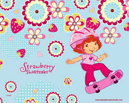 strawberry short cake wallpaper