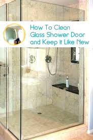 excellent cleaning shower doors with wd40 how to clean glass the easy and