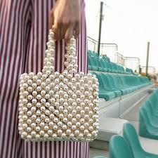 Online Shop <b>Luxury Pearl Pearls Bag</b> Beading <b>Bags</b> for Women ...
