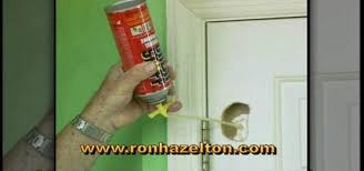 how to patch a hole in a hollow core door construction repair wonderhowto