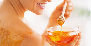 Image result for honey for burning face