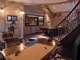Basement Wall Ideas - Rustic basement ideas
