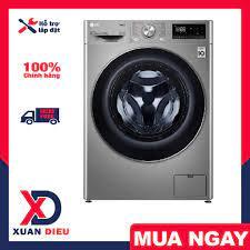 Máy giặt sấy LG Inverter 9 kg FV1409G4V Model 2020 -Có sấy,Thêm đồ trong  khi giặt,Giặt nước nóng, giao hàng miễn phí HCM