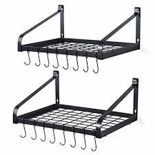 10 best hanging pot and pan racks