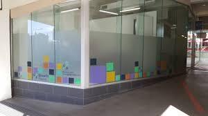 office glass frosting. Produced By Signarama Nundah Office Glass Frosting