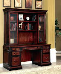 home office desk with hutch. Astonishing Cm Office Desk In Cherry Black W Options Room Home With Hutch