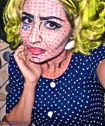 roy lichtenstein pop art ic book queen costume