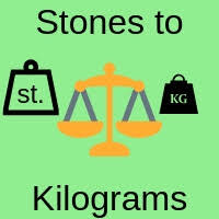 Stones To Kilograms Conversion