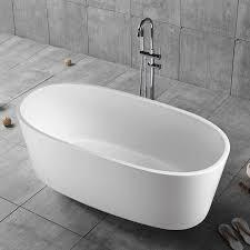 59 in freestanding bathtub acrylic white dk yu 16576