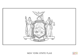 Small Picture Coloring Download New York State Flower Coloring Page New York