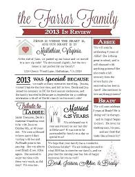 Family Newsletter Template Templates Free Printable Reunion Letter