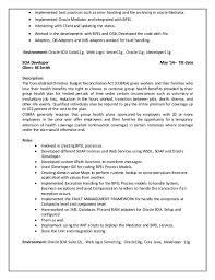 Stunning Soa Developer Resume Photos - Simple resume Office .