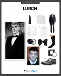 how to dress like lurch