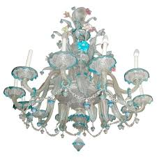 spectacular old venetian glass chandelier circa 1940 s regarding decor 15