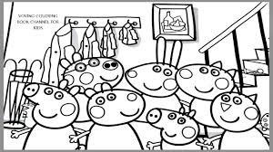 Small Picture Peppa Pig and Friends Coloring Book Coloring Pages Video For Kids