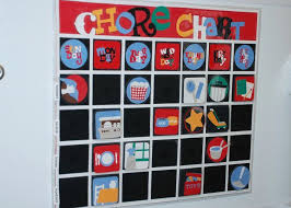 My Beloved Chore Chart Made With The Cricut System The