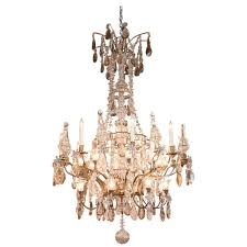 palace size grand baccarat crystal bronze chandelier with twenty eight lights for