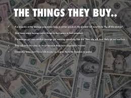 What do teens buy