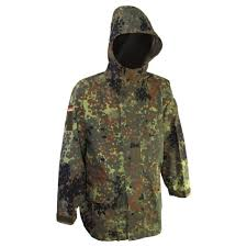 German Army Jacket Size Chart German Military Issue Flecktarn Gore Tex Parka