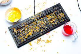 We tried to destroy Corsair's spill-resistant <b>keyboard</b> with Doritos ...