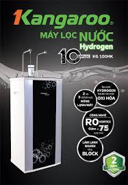 Máy lọc nước RO nóng lạnh 2 vòi KANGAROO KG100HK (10 cấp lọc - Lõi  Hydrogen) chính hãng tại ALOBUY Việt Nam