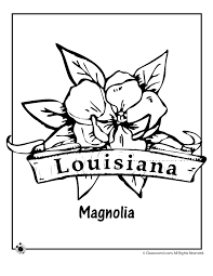 Louisiana State Flower Coloring Page - Woo! Jr. Kids Activities