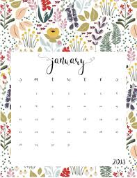 january 2018 calendar free january 2018 calendar cute template maxcalendars pinterest