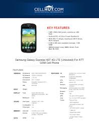 Samsung Galaxy Express I437 4G LTE ...