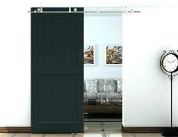 in x spruce wood unfinished barn door with sliding hardware kit barnwood steel closet