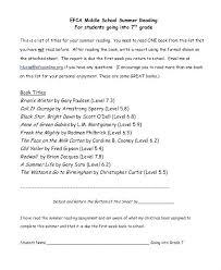 7th Grade Book Report Template Timetoreflect Co