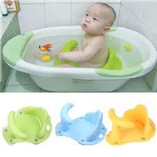 get ations baby kids toddler bath seat ring non anti slip safety chair mat pad tub