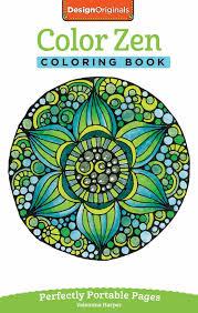 Color Zen Coloring Book Book By Valentina Harper Official
