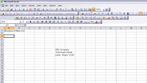 How To Print Envelopes From Excel Techwalla Com