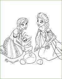 Kleurplaat Elsa En Olaf
